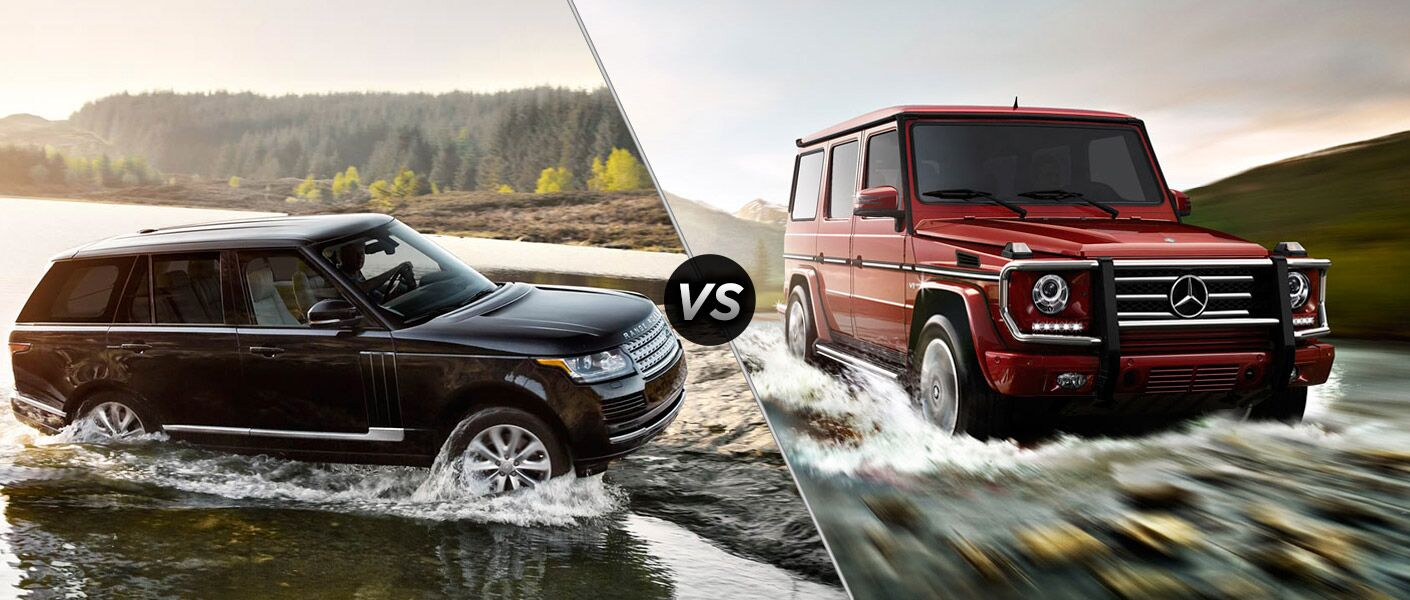 2016 Mercedes Benz G Class Vs 2016 Land Rover Range Rover