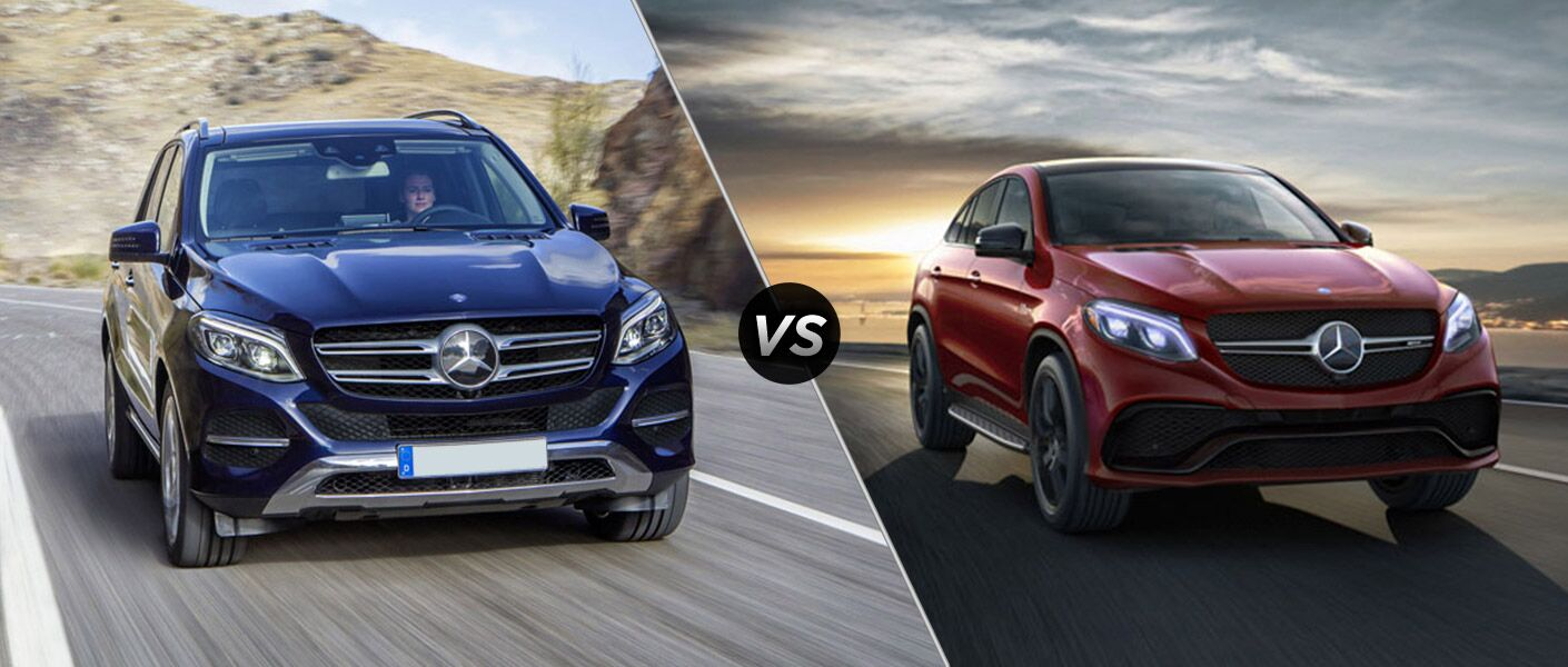2016 mercedes benz gle suv vs 2016 mercedes benz gle coupe for Mercedes benz suv coupe