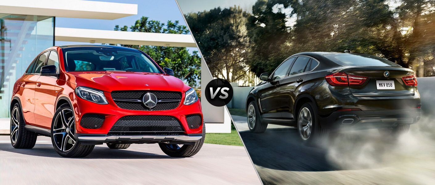 2016 Mercedes-Benz GLE Coupe vs 2016 BMW X6