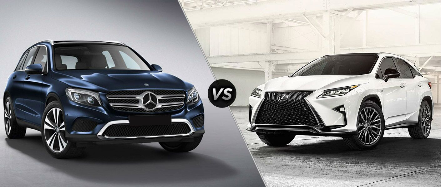 2016 mercedes benz glc vs 2016 lexus rx for Mercedes benz family discount