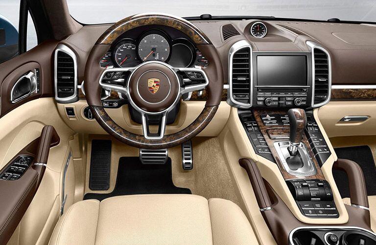 2017 porsche cayenne turbo s interior