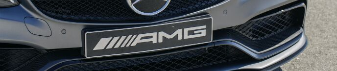 2016 Mercedes-AMG C63 Grille