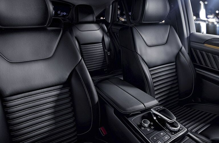 Mercedes-AMG GLE Coupe Black Back Leather Seats