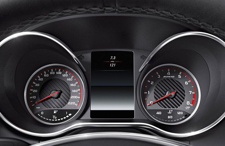 2017 Mercedes-AMG GT Speedometer