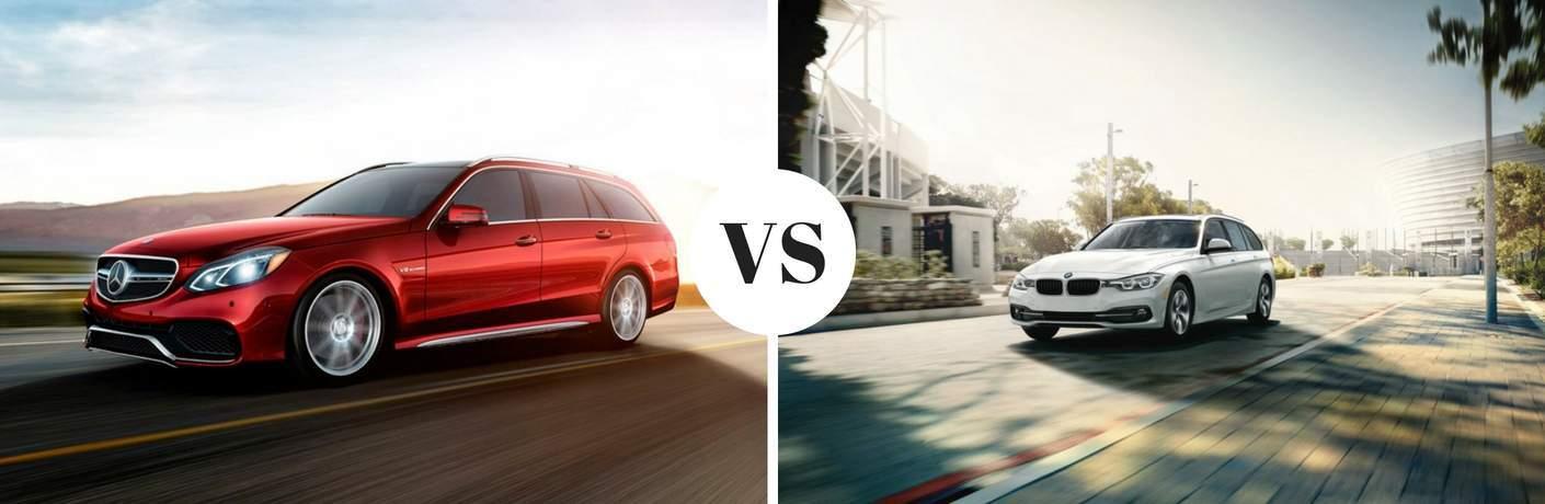 MercedesBenz EClass Wagon Vs BMW Series Sports Wagon - Bmw 3 series sports wagon