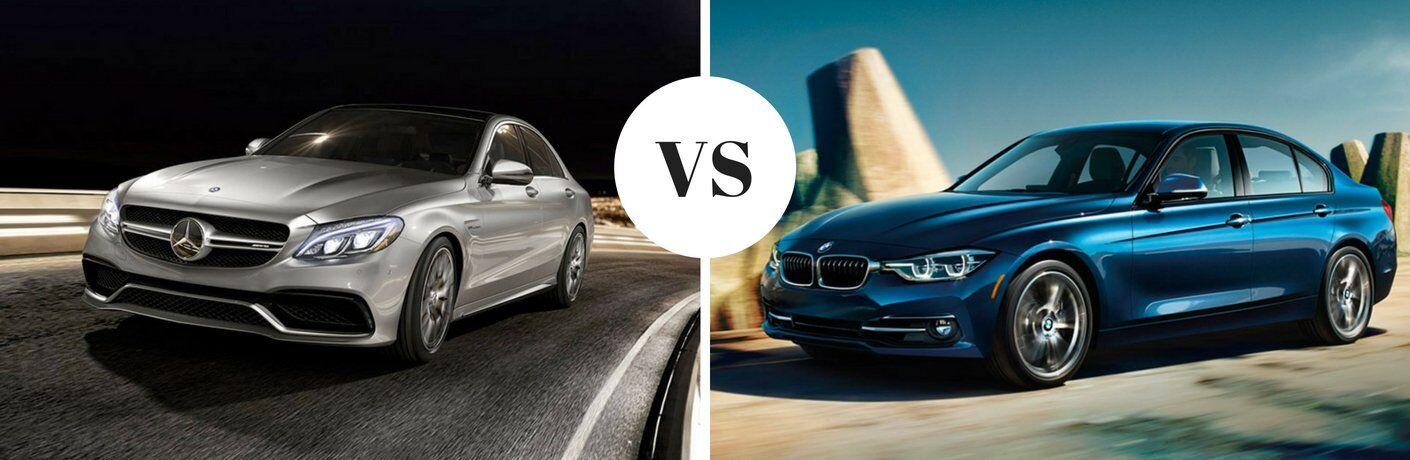 MercedesBenz CClass vs 2017 BMW 320i