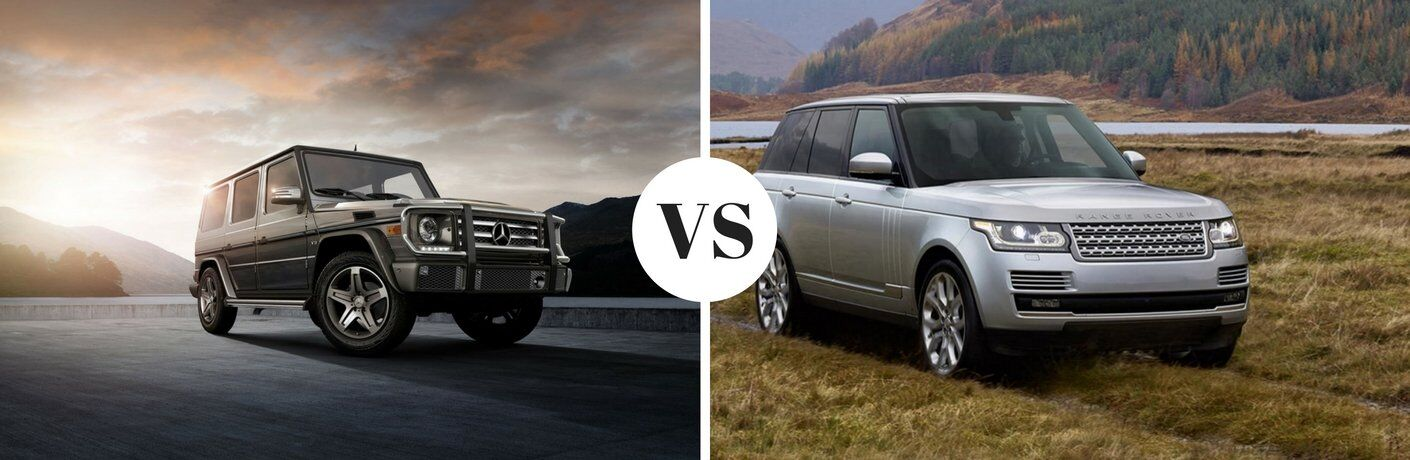 2017 Mercedes Benz G Class Vs 2017 Land Rover Range Rover