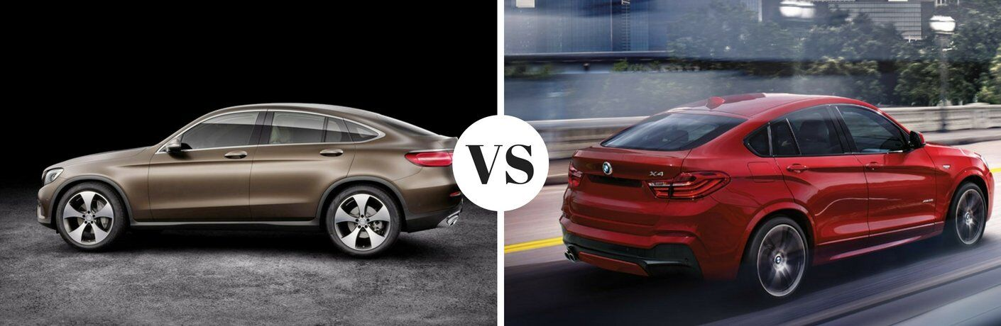 2017 Mercedes Benz GLC Vs 2017 BMW X4