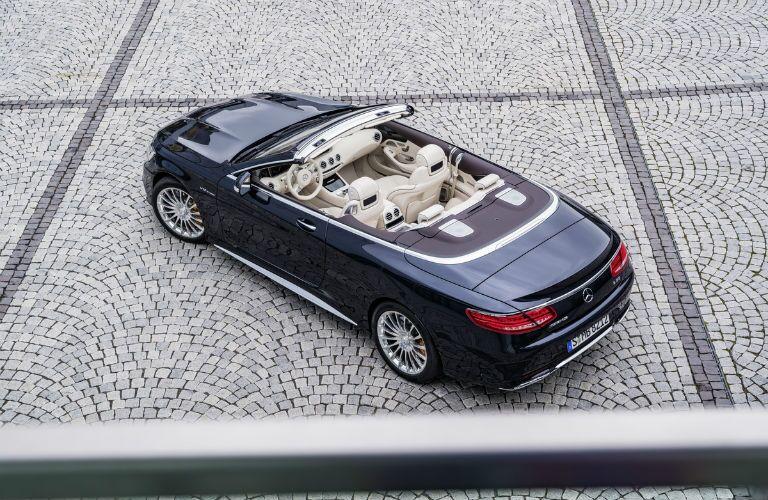 2017 Mercedes-Benz S-Class Top Down