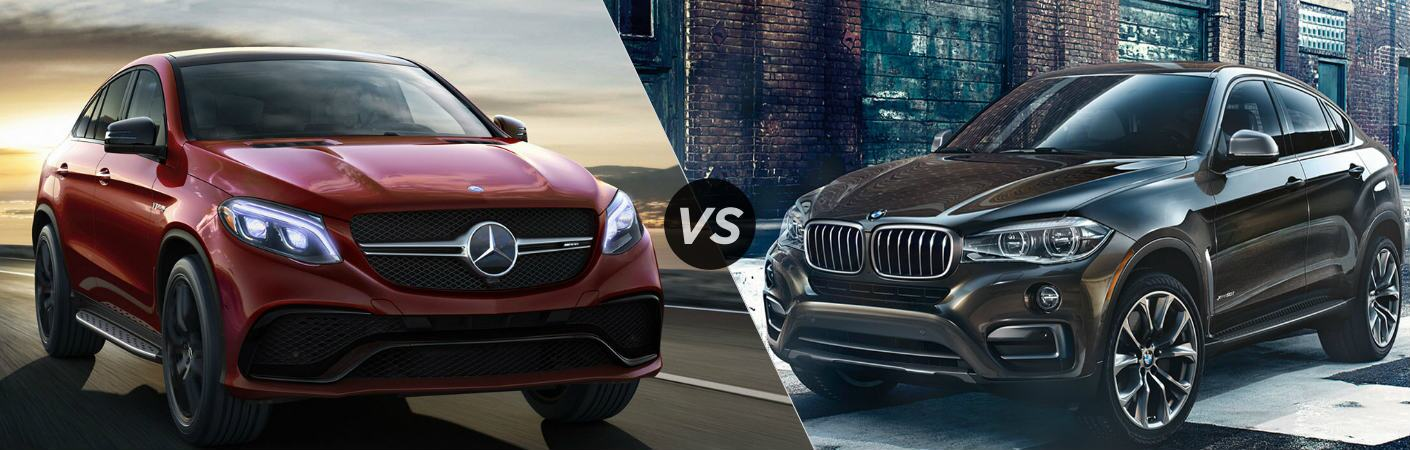 2017 mercedes benz gle coupe vs bmw x6 for Mercedes benz x6