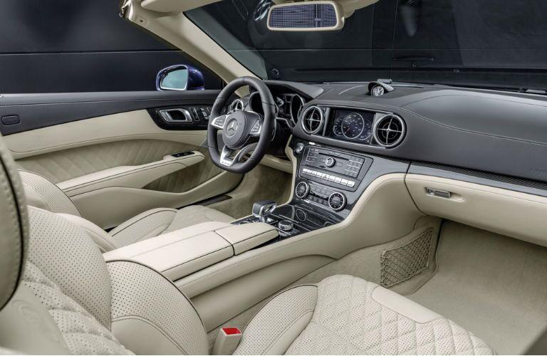 2017 Mercedes-AMG SL65 Front Seats