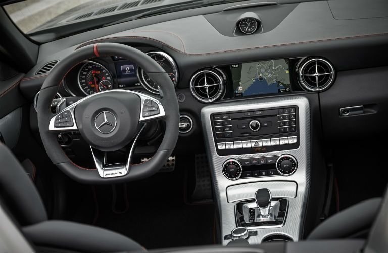 2017 Mercedes-AMG SLC43 Dashboard