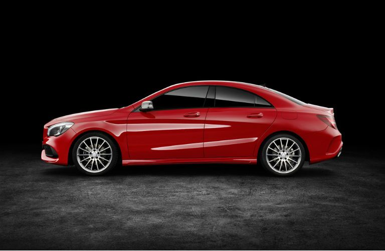 2017 Mercedes-Benz CLA Coupe Rims