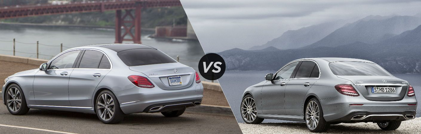 2017 mercedes benz e class vs c class for 2017 mercedes benz e350 price