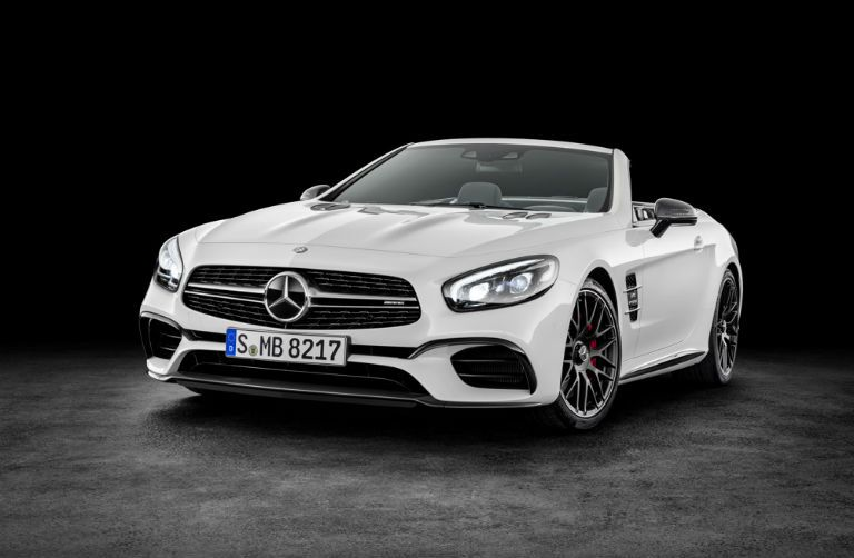 2017 Mercedes-AMG SL63 New Front Grille