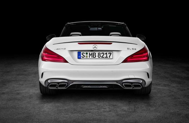 2017 Mercedes-Benz SL-Class rear bumper