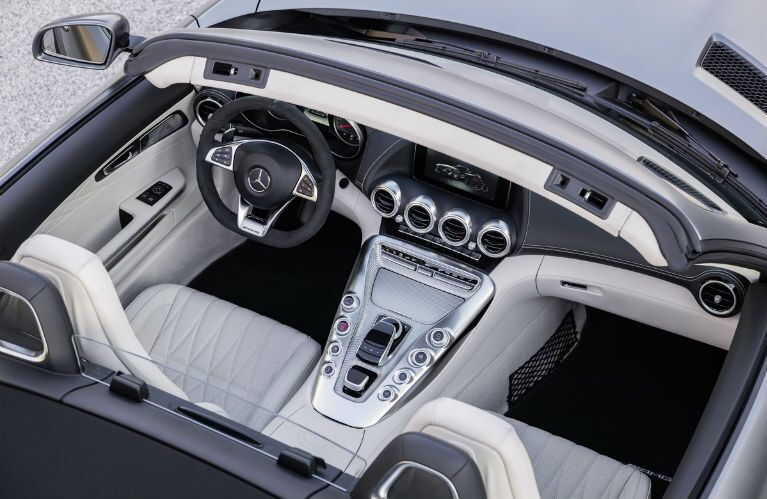 Mercedes Benz Gt Roadster Top Down