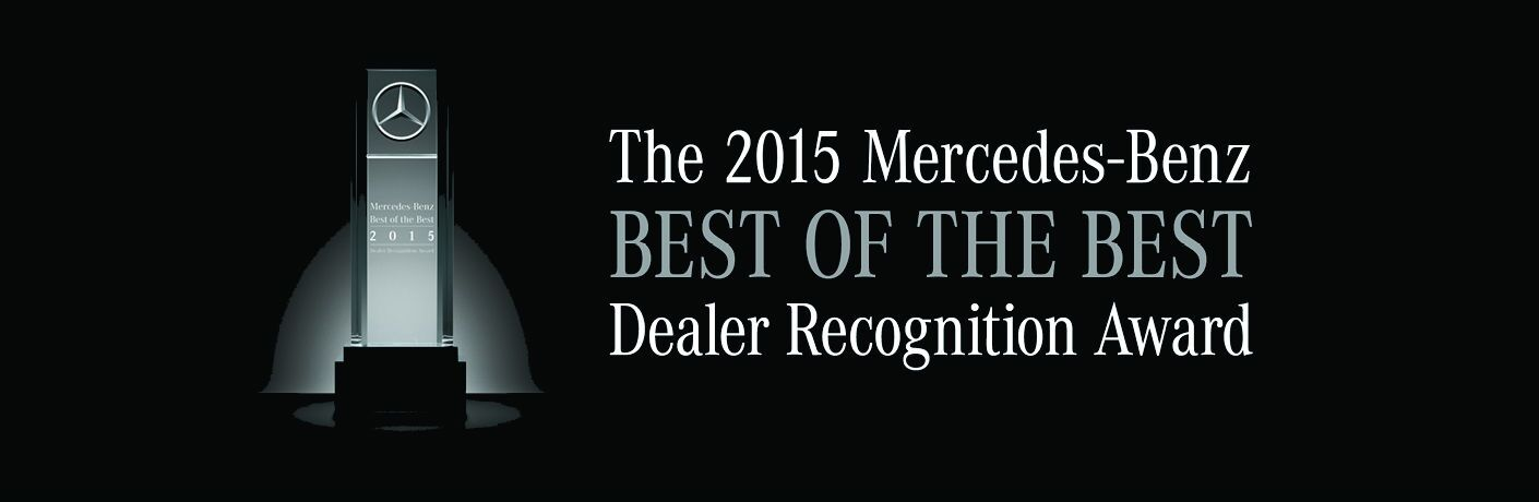 Best of the Best Mercedes-Benz Dealer 2015 Scottsdale AZ