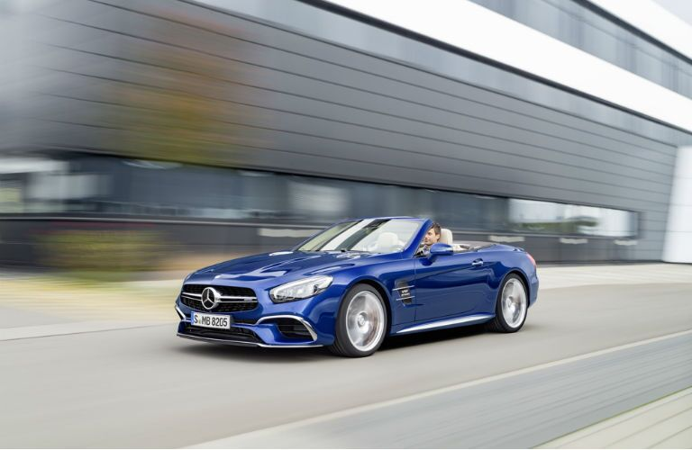 Mercedes-Benz SL-Class Comparisons
