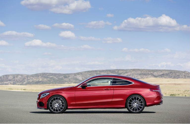 2017 C-Class Coupe Red Sport Package