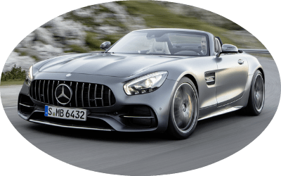 2017 Mercedes-AMG GT C Roadster Grey Exterior