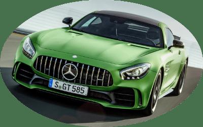 2017 Mercedes-AMG GT R Active Aerodynamics