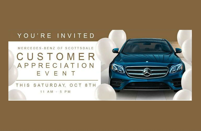 Mercedes-Benz of Scottsdale Customer Appreciation Event