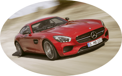 2017 Mercedes-AMG GT Coupe Red Exterior