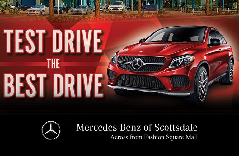 Test Drive the Best Drive Mercedes-Benz of Scottsdale