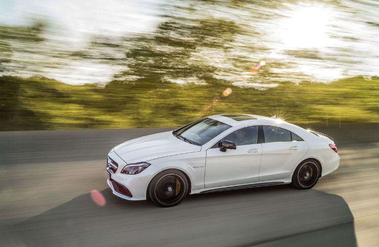 2017 Mercedes-Benz CLS Coupe in White