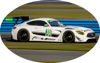 2017 Mercedes-AMG GT3 Race Car at IMSA