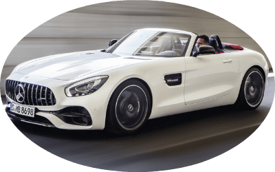 2017 Mercedes-AMG GT Roadster Top Down