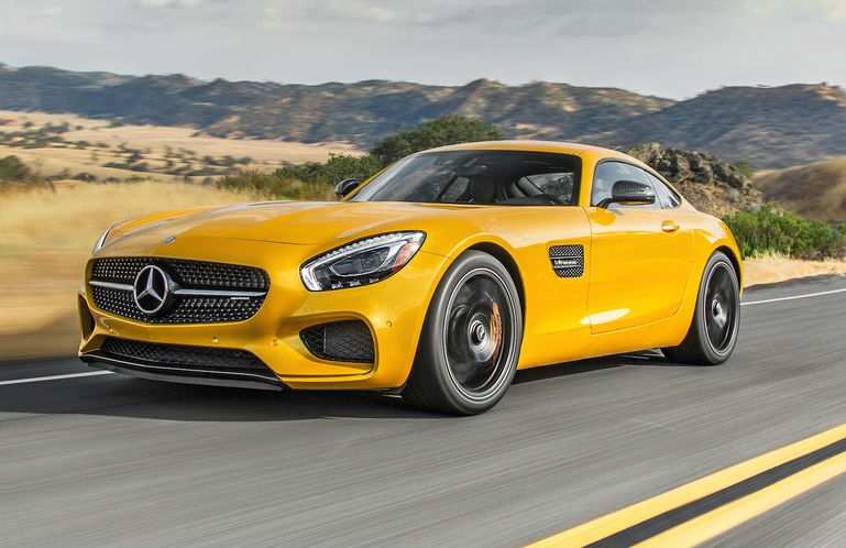 2017 Mercedes-Benz AMG GT in Yellow