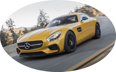 2017 Mercedes-AMG GT S Yellow Exterior