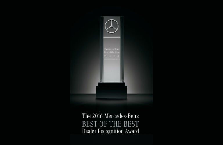 Mercedes-Benz of Scottsdale Best of the Best Awards