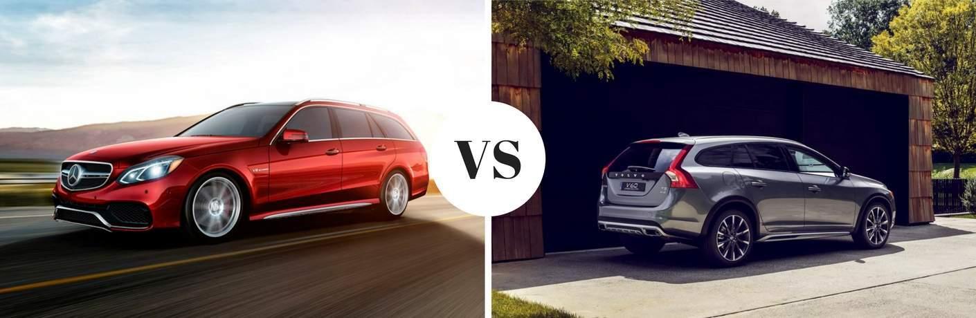 2017 mercedes benz e class wagon vs 2017 volvo v90 cross country. Black Bedroom Furniture Sets. Home Design Ideas