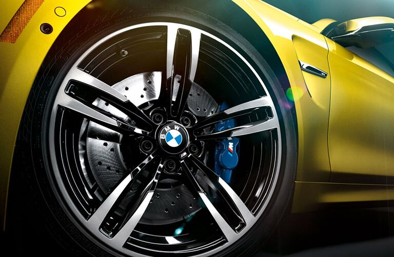 Close Up of 2017 BMW M4 Wheels