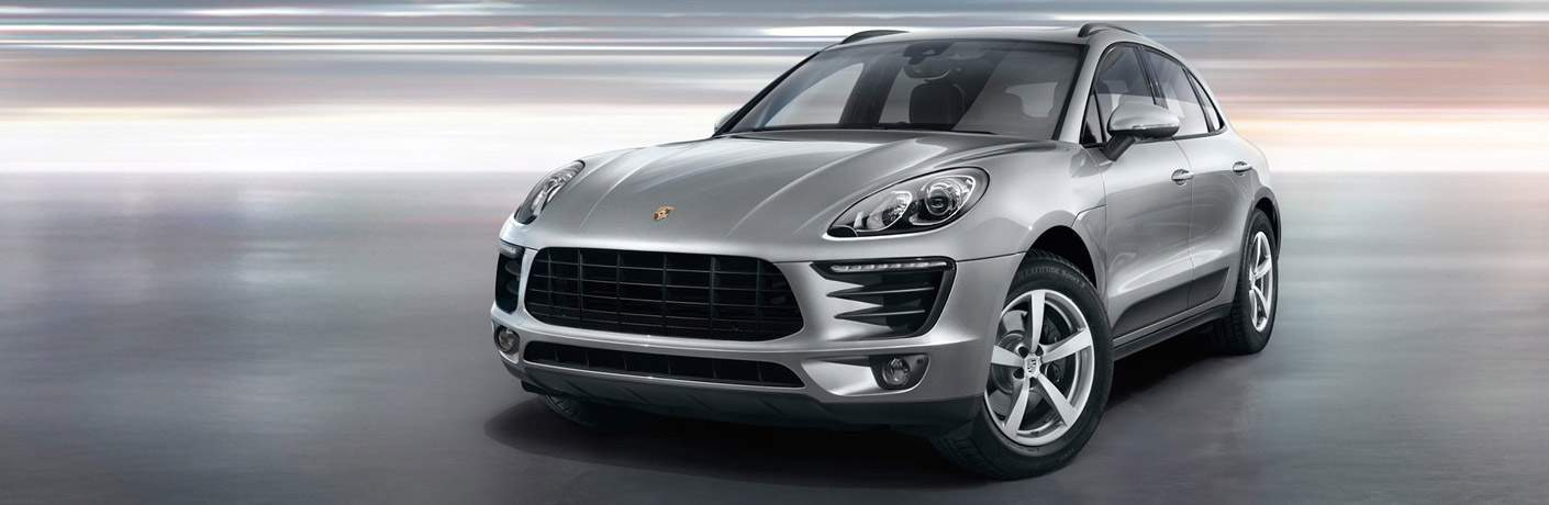 Used Porsche Macan front view