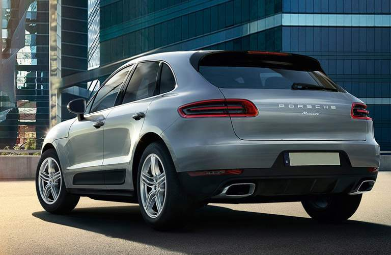 Used Porsche Macan rear exterior