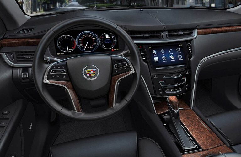 Interior of 2013 Cadillac XTS