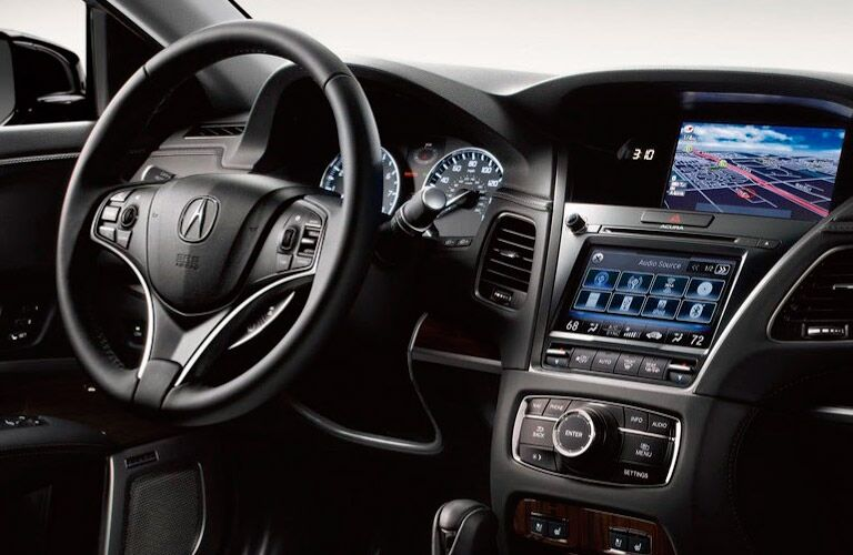Acura TXS interior center console