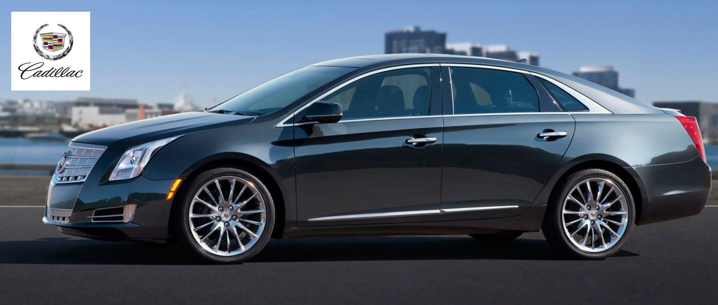 2014 Cadillac XTS exterior side view