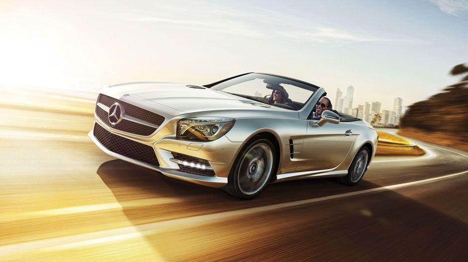 Mercedes-Benz SL exterior front view