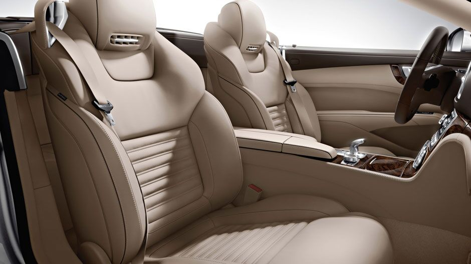 Mercedes-Benz SL interior seating