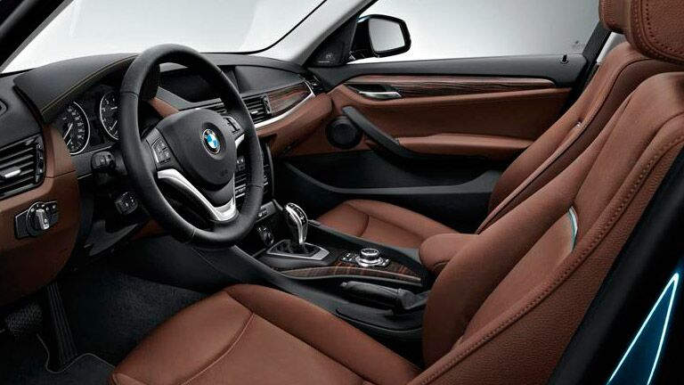 Used BMW X1 2015 model interior