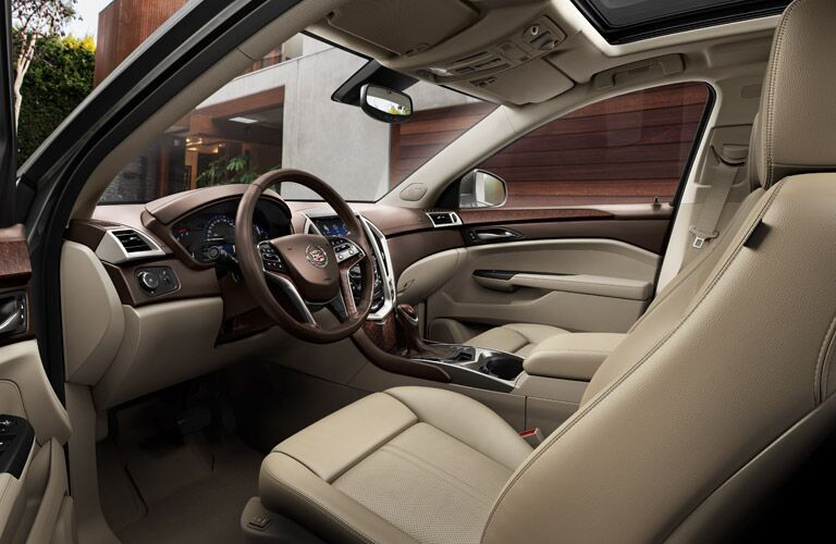 Used Cadillac SRX Dallas TX interior