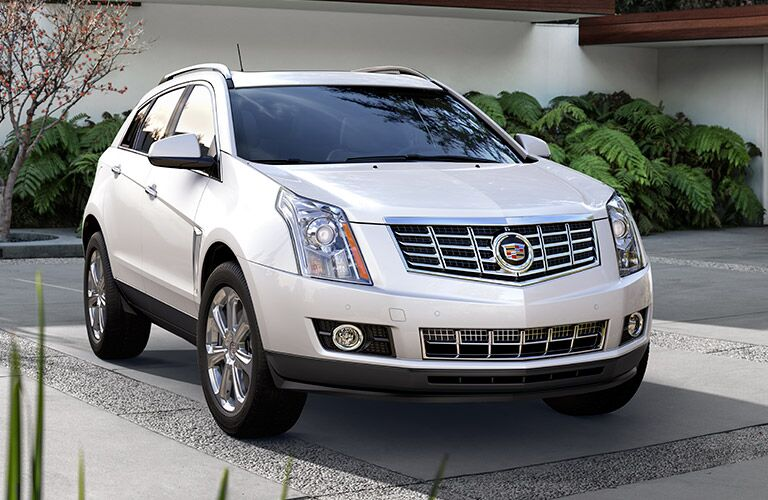 Used Cadillac SRX Dallas TX front