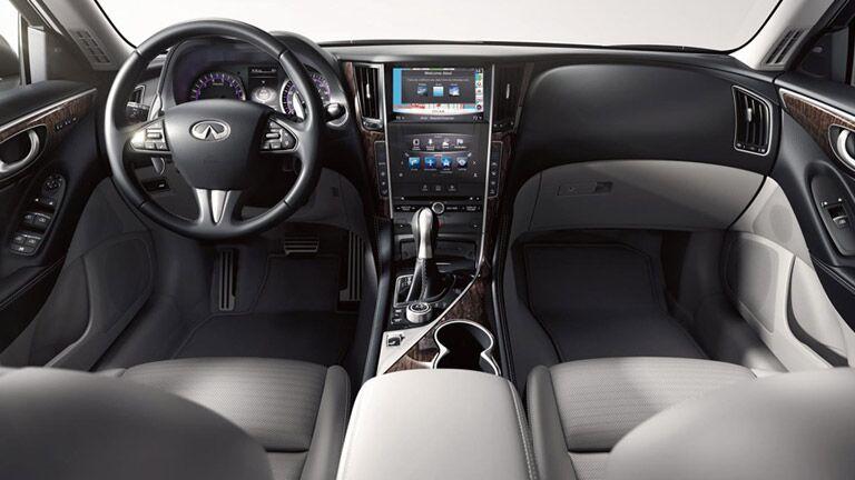 Infiniti Q50 interior view