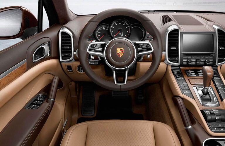 Used Porsche Cayenne interior