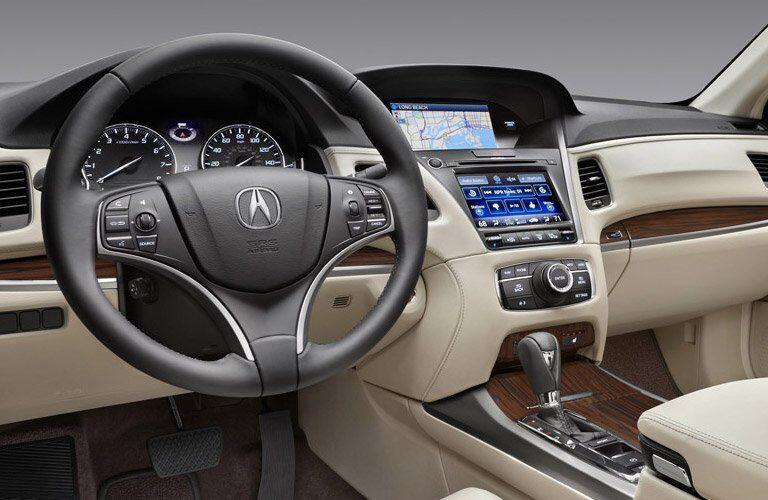 Used Acura RLX steering wheel